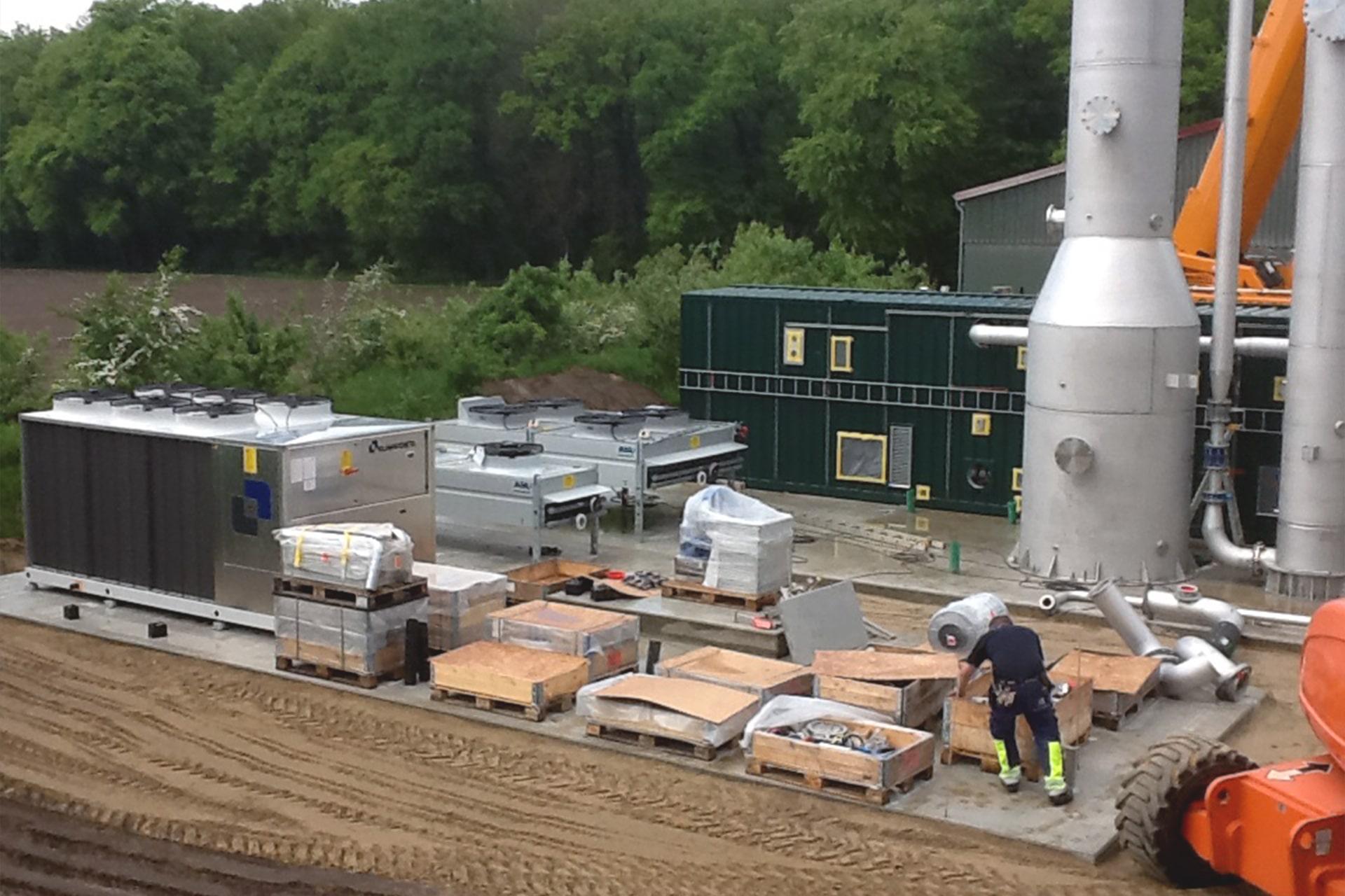 Gasaufbereitungsanlage