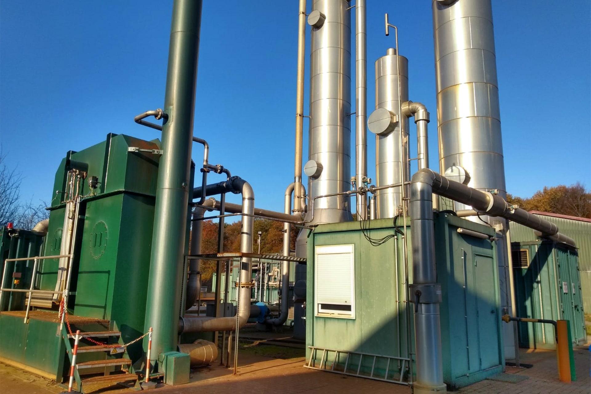 Bau Gasaufbereitungsanlage 06-min